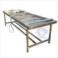 Stainless steel Postmortem Table