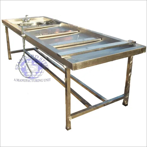 Folding Postmortem Table