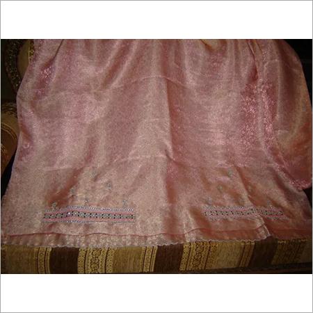 Brocade Sari with kundan