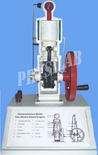 Two Stroke Diesel Engine Model