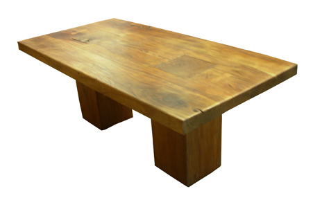 ACACIA LOG DINING TABLE