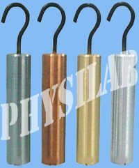Specific Gravity Specimen Cylinders with Hooks