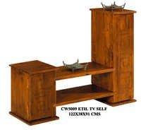 Wooden TV Shelves