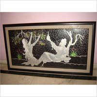 Aluminium  Embossed & carved Painting
