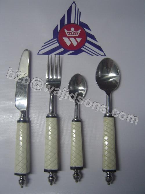 horn handled flatware