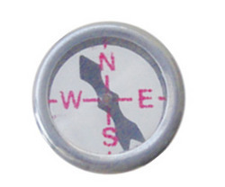 Magnetic Compass Both Sides Glass