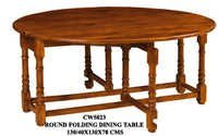 Round Folding Dining Table