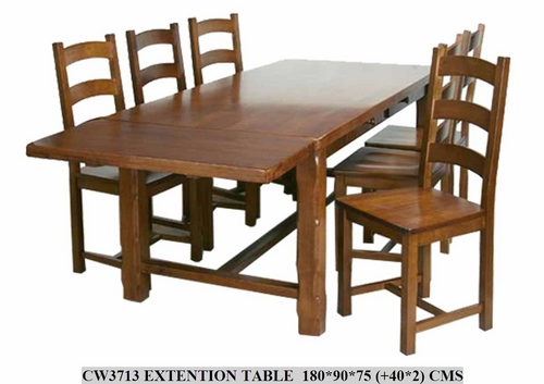 EXTENTION  DINING TABLE