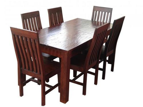 DINING TABLE & 6 CHAIR