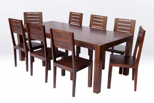 DINING TABLE & 8 CHAIR