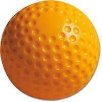 Yellow Hockey Balls