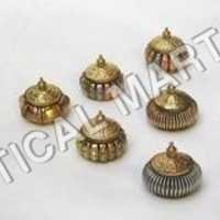 Colored Brass Container Set  25