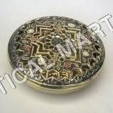 Brass Box Round Perforated