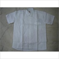 White Chikankari Shirt