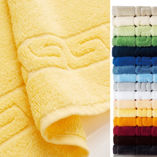 Fancy solid towels