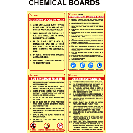 Chemical Boards