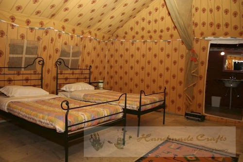 Luxury Tents -Swiss Cottage Tents