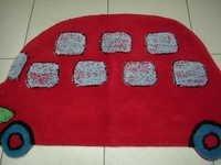 Car Shaped Kids Bath Mat