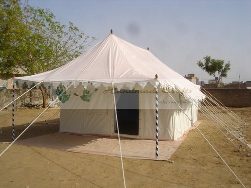 Swiss Cottage Tents With Furniture
