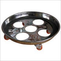 steel cylinder trolley