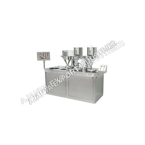 Semi Automatic Capsule Filling Machine Semi Automatic