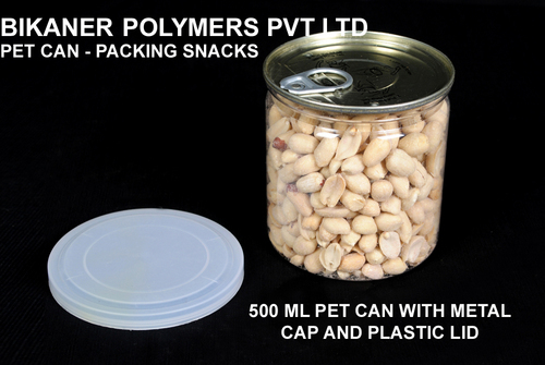 Pet Cans For Snacks Packing