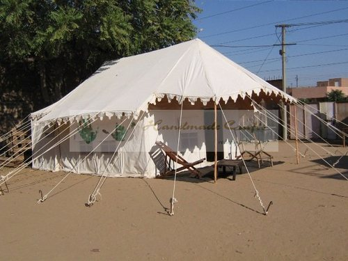 Swiss Cottage Frame Tent With Furniture