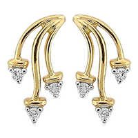 Bling! Diamond Accessories Daily Wear Classic Style Earring # BGE037