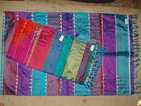 100% silk ring ceremony scarfs