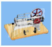 DEMONSTRATION GAS ENGINE 4 STROKE
