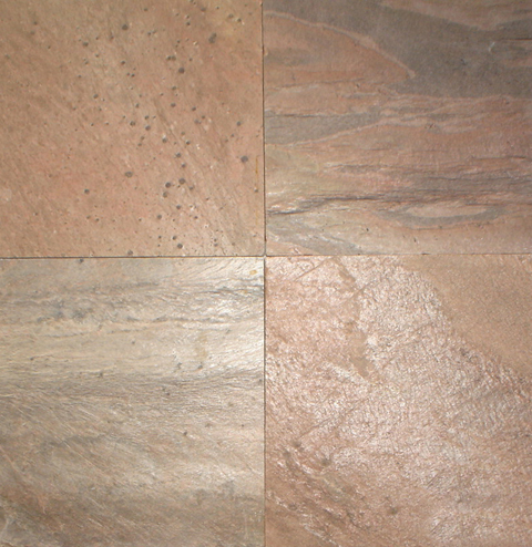 Copper Polished Slate Stone