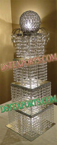 Wedding Crystal Center Piece With Boll