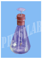 ELECTROSCOPE, SIMPLE FLASK TYPE