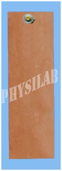 COPPER PLATE WITH TERMINAL