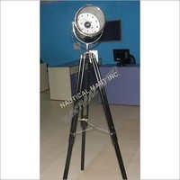 Black Decorative Chrome Search Light
