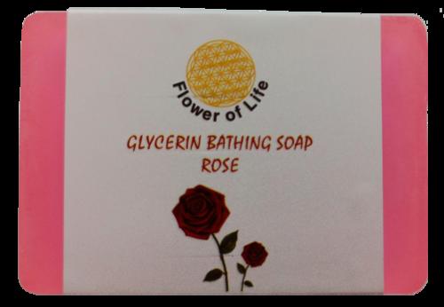 Rose Glycerin Bathing Soaps