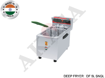 AKASA ELECTRIC Stainless Steel Deep Fryer