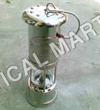 CHROMED MINERS LAMP