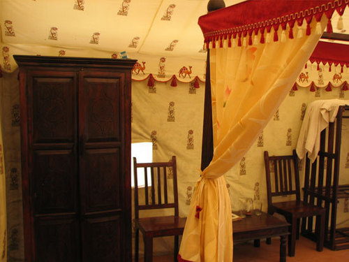 Indian Tents With Furniture