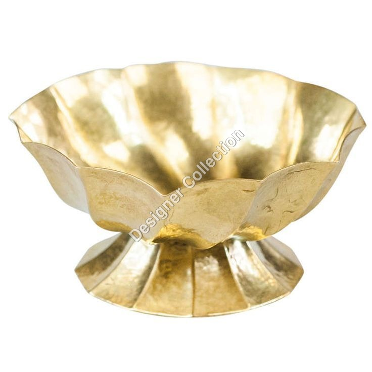 Antique Brass Ashtray