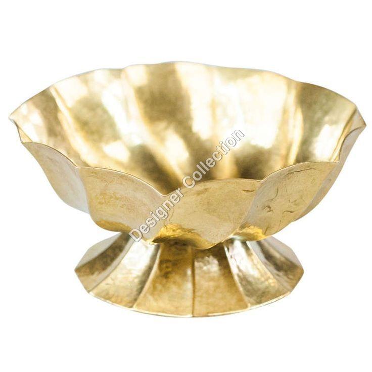 Antique Brass Ashtray