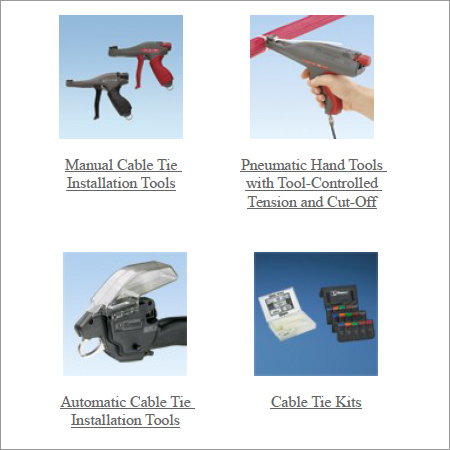Panduit Make Cable Tie Installation Tools
