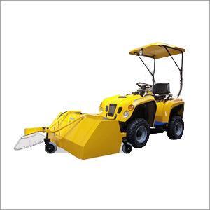 Industrial Power Sweeper Machine