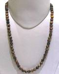 Tiger Eye Round Beads String