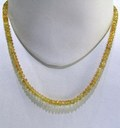 Citrine Faceted String