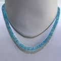 Blue Topaz Faceted String