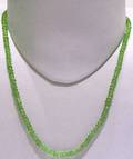 Peridot Faceted String