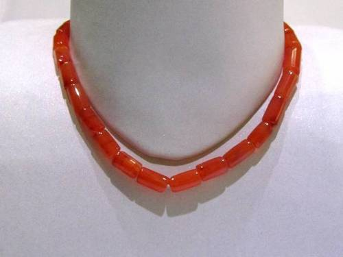 Red Carnelian Pipe String