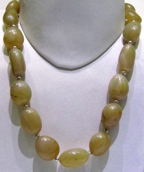 Yellow Agate Tumble String