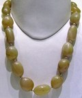 Yellow Agate Tumble String